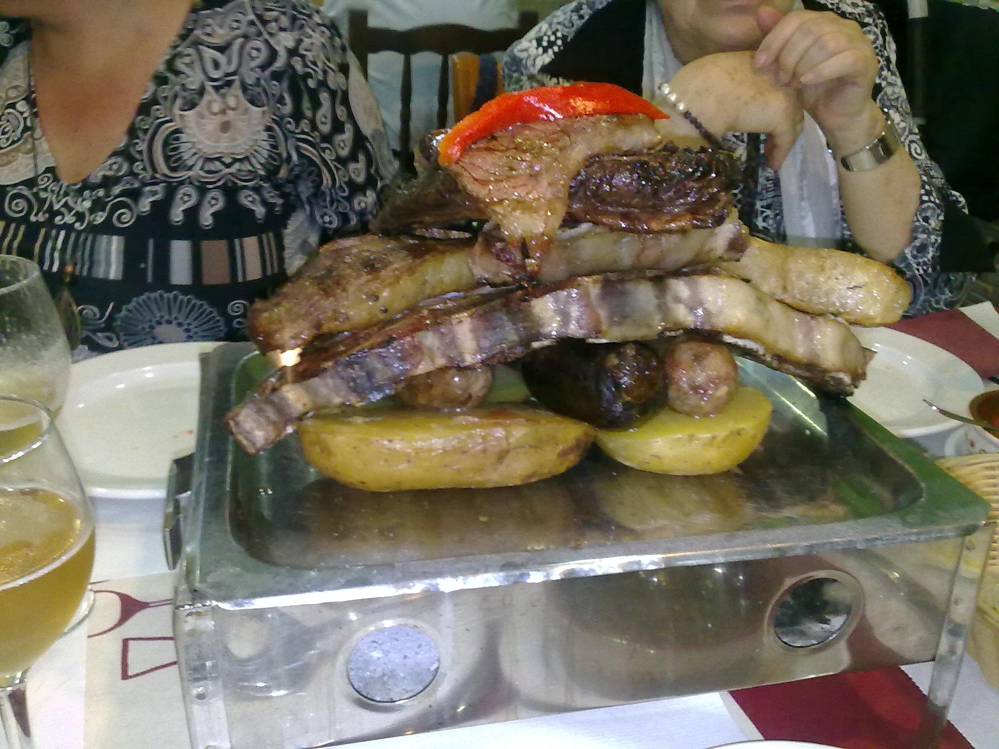 Parrillada argentina de Carne