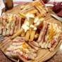 Pinchos de sandwich de 5 pisos